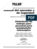 Manual de Operacion y Mantenimiento Th406c Gat