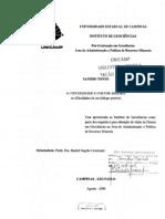 A Universidade e o Setor Areeiro - Tonso - Tese Doutoramento