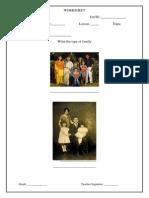 Kendriya Vidyalaya Class 1 worksheets