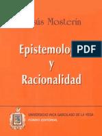 Epistemolog+¡a y racionalidad. Jes+¦s Moster+¡n