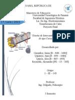 Diseño de Intercambiador de Coraza-tubo