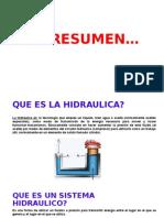 Resumen Introduccion a La Hidraulica