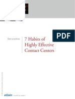 Egain Whitepaper 7habits Effective Contact Centers
