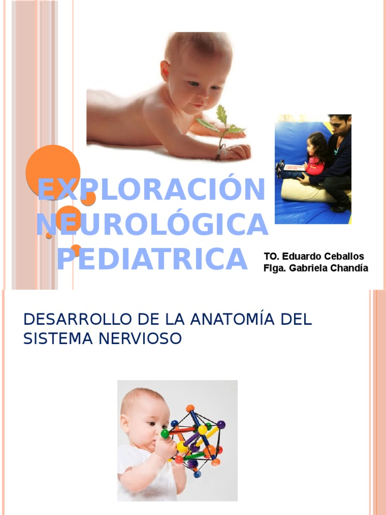 EXPLORACIÓN NEUROLOGICA INFANTIL