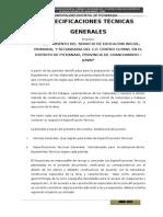 05 ESPECIFICACIONES TÉCNICAS
