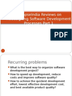 SynapseIndia Reviews on Redesigning Software Development Processes Part 1