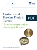 Customs and Foreign Trade in Turkey