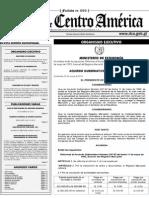Acuerdo Gubernativo 118 2014