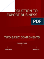 Introduction to Export Business