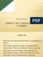 Service Tax Consultants in Chennai