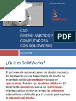SolidWorks - Lección 01
