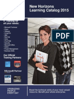 2015 Learning Catalog May