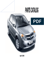 Parts Catalog for Geely MK1