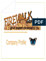 Company Profile Firewalk Marketing