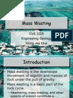 9. Mass Wasting