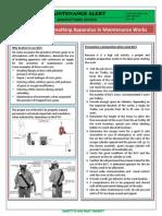 Maintenance Alert M M MR M 0005
