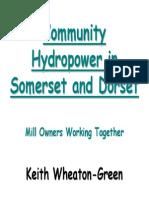 Keith Wheaton-Green Hydro Presentation