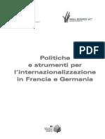 Politiche e Strumenti Internazionalizzazione Francia e Germania