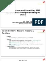 Promoting SME Innovation-China