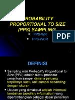 (Pps) Sampling