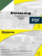 Bomaq - Rough Terrain Forklift