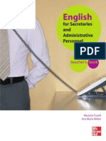 English for Sec and Adm Pers - Teacher_s Book