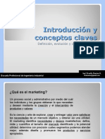Intruccion y Conceptos Claves Del Marketing