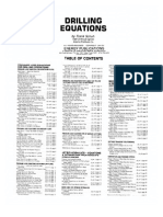 Drilling Engineering Equations