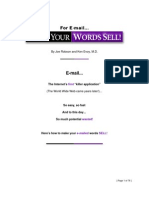 E Mail Words