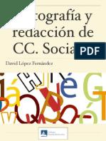 Ortografía y Redacción CC. Sociales