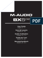 BX5 D2 Single - User Guide - V1.0