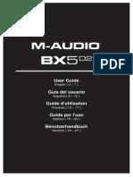 BX5 D2 Single - User Guide - V1.0