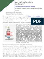 Cum Functioneaza o Centrala Termica in Condensatie