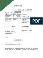 Bejar vs. Caluag