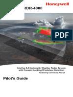 Honeywell RDR-4000 Weather Radar Pilot's Handbook