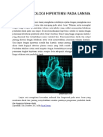 Patofisiologi Hipertensi Pada Lansia