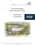 Project Report of a hospital