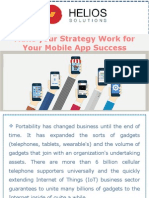 Make your Strategy Work for Your Mobile App Success