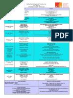2015 - 2016 Schedule of Programs