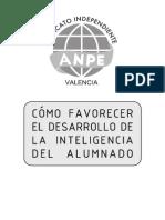 Favorecer El Desarrollo Intelectual Del Alumno_Ampe