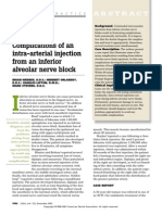 Complications From Intraarterial Injection of Ian Block