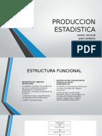 PRODUCCION ESTADISTICA