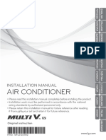 Installation Manual_LG AC English