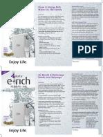 Penapis Air...E-rich Leaflet