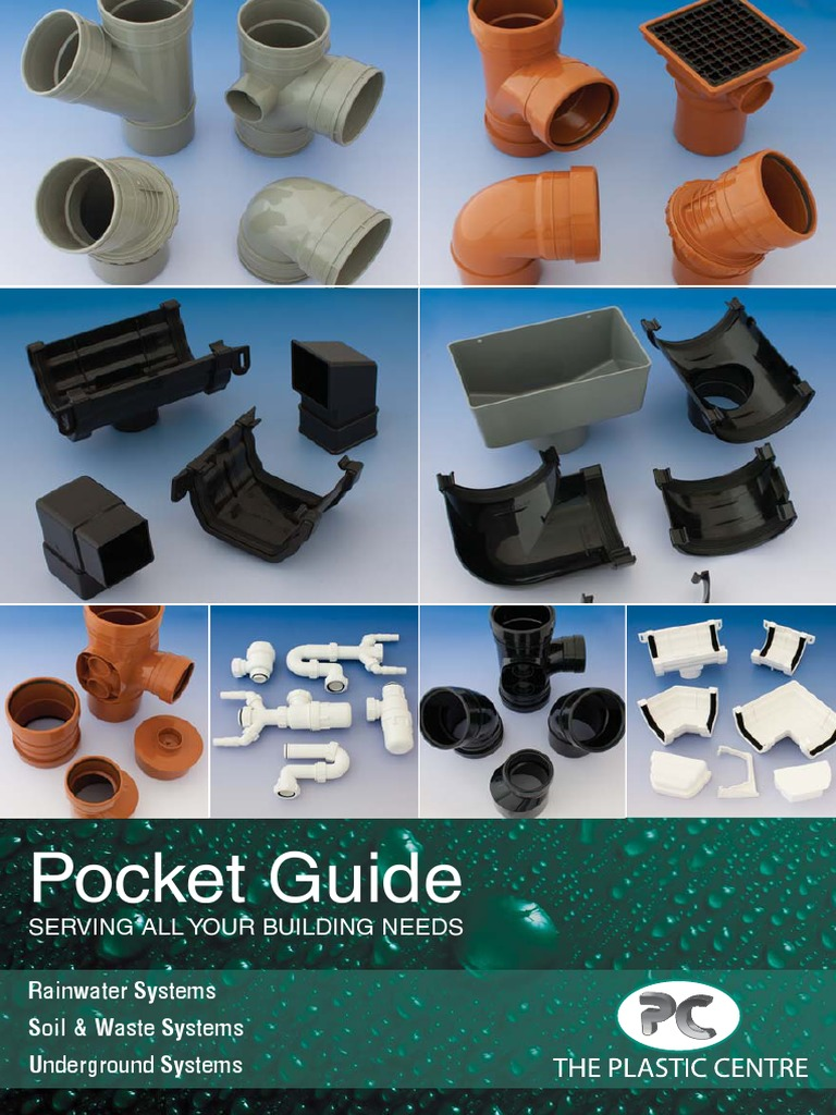 Pocket Building Guide | Drainage | Pipe (Fluid Conveyance)
