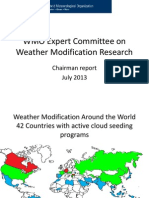 3 6 WMO Expert Committee Weather Modification Research