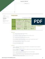 Programação - ENSEF 2015