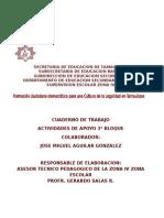 Cuaderno de Trabajo Del Bloque 3 Cultura de La Legalidad