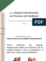 Relações Interpessoais Feedback (1)