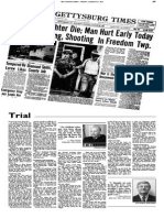 Gettysburg Times Coverage of Patterson Case